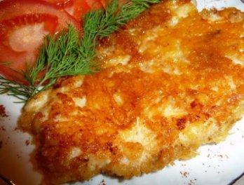 филе в сырной корочке