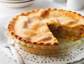 Пирог с яблоками и маргарином рецепт 99