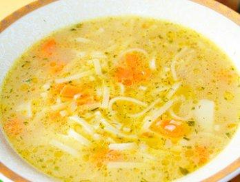 Суп с яичной лапшой китайский — pic 2