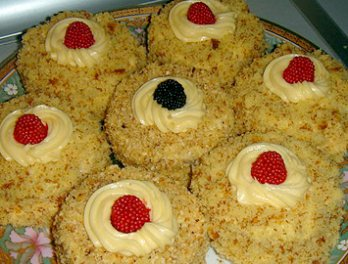 Секреты приготовления торта Дамские пальчики 9